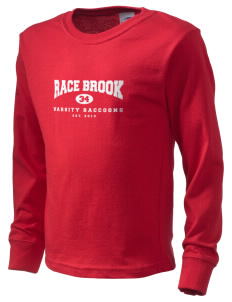 Race Brook Elementary School Raccoons  Kid's Long Sleeve T-Shirt