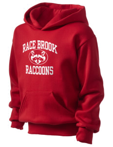 Race Brook Elementary School Raccoons Kid's Hooded Sweatshirt