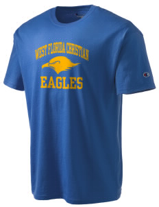 West Florida Christian School Eagles Champion Men's Tagless T-Shirt