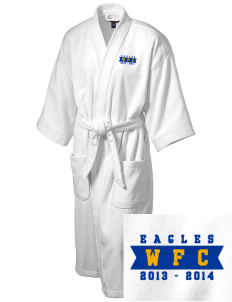 West Florida Christian School Eagles Embroidered Terry Velour Robe