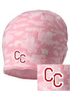 Community Christian Academy Defenders Embroidered Camo Beanie