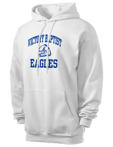 Victory Baptist Academy Eagles Men's 7.8 oz Lightweight Hooded Sweatshirt