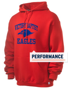 Victory Baptist Academy Eagles Russell Men's Dri-Power Hooded Sweatshirt