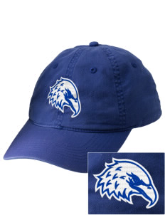 The King's Christian Academy Eagles Embroidered Vintage Adjustable Cap