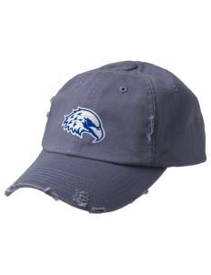 The King's Christian Academy Eagles Embroidered Distressed Cap