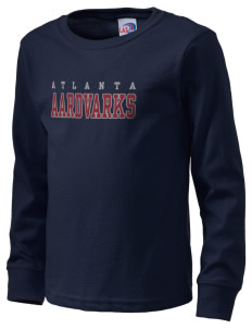 Atlanta Adventist Academy Aardvarks  Kid's Long Sleeve T-Shirt