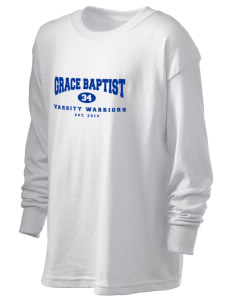 Grace Baptist Academy Warriors Kid's 6.1 oz Long Sleeve Ultra Cotton T-Shirt