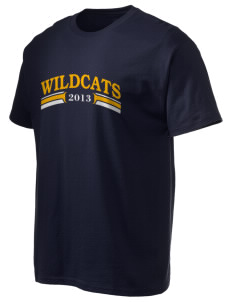 Kendall Demonstration Elementary School Wildcats Hanes Men's 6 oz Tagless T-shirt