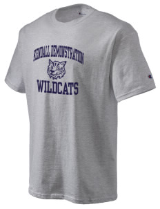 Kendall Demonstration Elementary School Wildcats Champion Men's Tagless T-Shirt