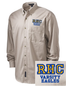 Rochester Hills Christian School Eagles Embroidered Tall Men's Twill Shirt