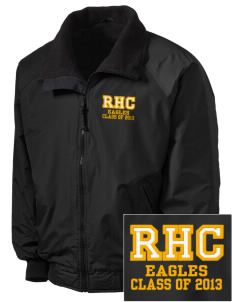Rochester Hills Christian School Eagles Embroidered Tall Men's Challenger Jacket