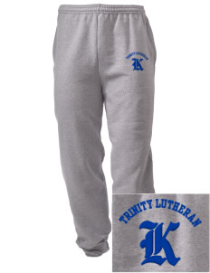 Trinity Lutheran School Kings Embroidered Men's Sweatpants with Pockets