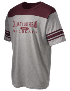 Calvary Lutheran School Wildcats Holloway Men's Champ T-Shirt