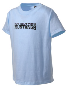 Rainier Christian Middle School Mustangs Kid's T-Shirt