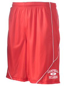 "Campbell High School Buccaneers Men's Pocicharge Mesh Reversible Short, 9"" Inseam"