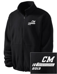Calvary Murrieta Warriors Embroidered Men's Fleece Jacket