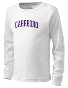 Carrboro High School Jaguars  Kid's Long Sleeve T-Shirt