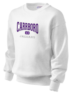 Carrboro High School Jaguars Kid's Crewneck Sweatshirt