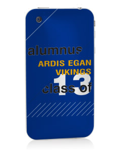 Ardis Egan Intermediate School Vikings Apple iPhone 3G/ 3GS Skin