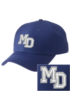 Monsignor Donovan High School Griffins  Embroidered New Era Adjustable Structured Cap