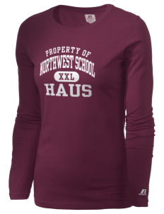 The Northwest School Seattle  Russell Women's Long Sleeve Campus T-Shirt
