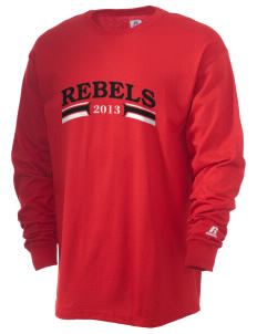 St. John's Elementary School Rebels  Russell Men's Long Sleeve T-Shirt