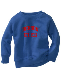 Benson High school Bobcats Toddler Crewneck Sweatshirt