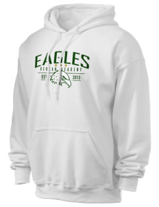 Berean Academy Eagles Ultra Blend 50/50 Hooded Sweatshirt