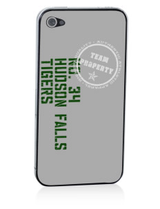 Hudson Falls Central School Tigers Apple iPhone 4/4S Skin