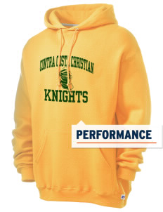 Contra Costa Christian Academy Knights Russell Men's Dri-Power Hooded Sweatshirt