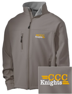 Contra Costa Christian Academy Knights Embroidered Men's Soft Shell Jacket