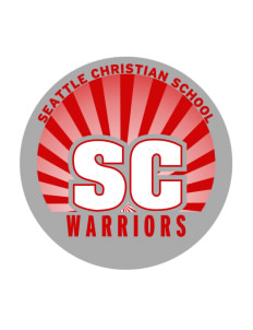 Seattle Christian School Warriors Sticker