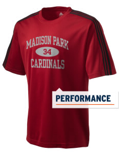 Madison Park Technical Vocational High School Cardinals adidas Men's ClimaLite T-Shirt