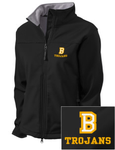 Bergan High School Trojans Embroidered Women's Glacier Soft Shell Jacket