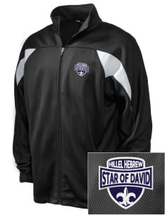 Hillel Hebrew Academy Star Of David Embroidered Holloway Men's Full-Zip Track Jacket