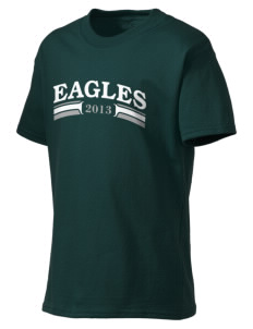 Saint John Lutheran School Eagles Kid's Lightweight T-Shirt