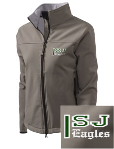 Saint John Lutheran School Eagles Embroidered Women's Glacier Soft Shell Jacket
