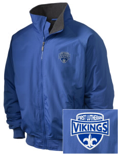 First Lutheran School Vikings Embroidered Holloway Men's Tall Jacket