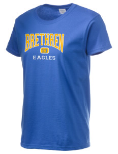 Brethren Elementary School Eagles Women's 6.1 oz Ultra Cotton T-Shirt