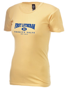 First Lutheran School Colts Alternative Women's Basic Crew T-Shirt
