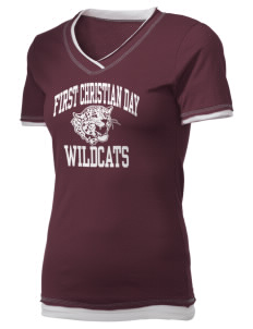 First Christian Day School Wildcats Holloway Women's Dream T-Shirt