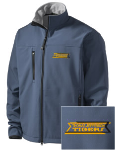 Thomas Jefferson Elder High School Tigers Embroidered Men's Glacier Soft Shell Jacket