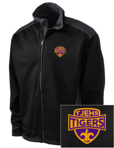 Thomas Jefferson Elder High School Tigers Embroidered Soft Shell Two-Tone Jacket