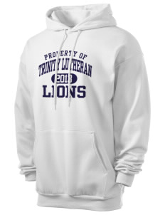 Trinity Lutheran School Lions Men's 7.8 oz Lightweight Hooded Sweatshirt