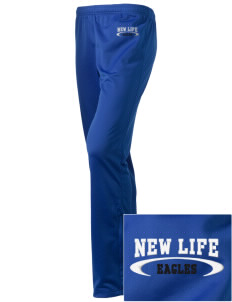 New Life Academy Eagles Embroidered Holloway Women's Contact Warmup Pants