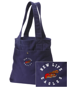 New Life Academy Eagles Embroidered Alternative The Berkeley Tote
