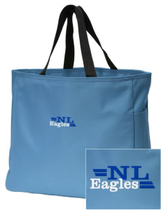 New Life Academy Eagles Embroidered Essential Tote