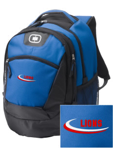 Hilltop Christian School Lions Embroidered OGIO Rogue Backpack