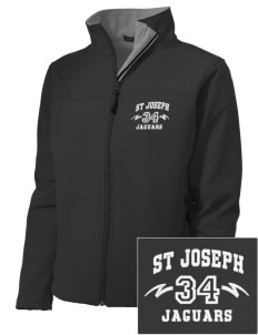 St Joseph School Jaguars Embroidered Women's Soft Shell Jacket