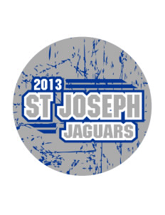 St Joseph School Jaguars Sticker